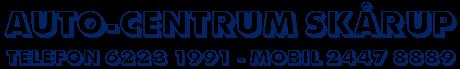 Auto-Centrum Skårup logo