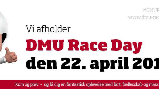 DMU Race day – prøvekørsel