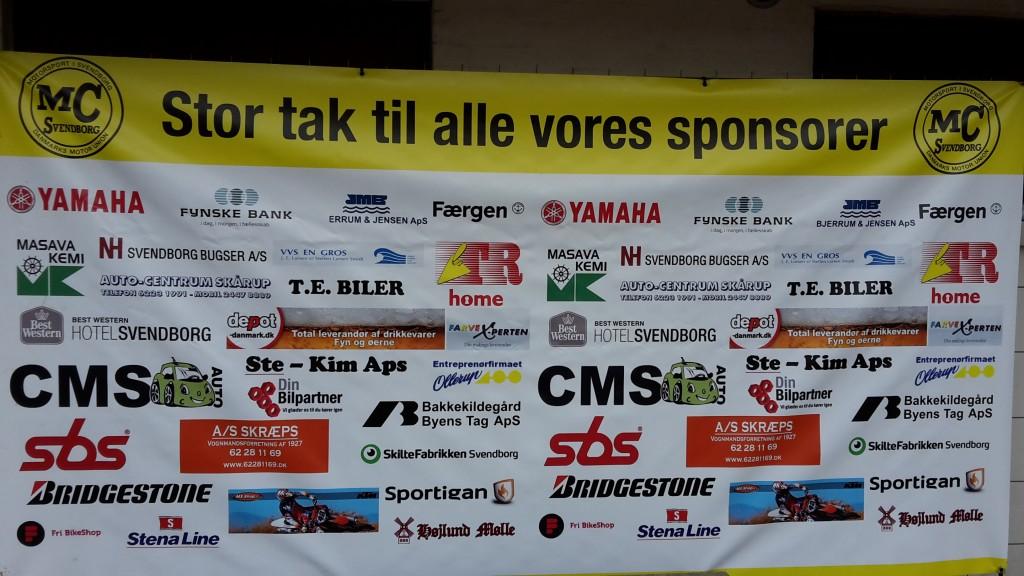 Tak sponsorer